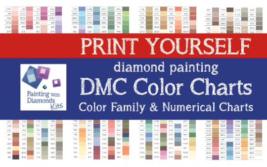 photo about Free Printable Dmc Color Chart titled PRINT Oneself 2 In just 1 DMC Coloration CHART Diamond Portray Drill Coloration Charts Dmc Shade Card