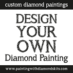 YOUR PHOTO Diamond Painting Kit Custom Paint With Diamonds Kit