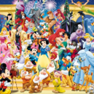 WALT DISNEY FAMILY DISNEY CHARACTERS Diamond Painting Kit Paint with Diamonds Kit