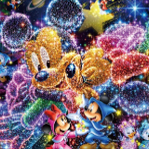 DISNEY GALAXY Diamond Painting Kit Paint with Diamonds Kit