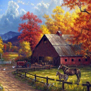 COUNTRY FARM Diamond Painting Kit Paint with Diamonds Kit