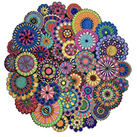 FLORAL MANDALA Diamond Painting Kit Paint with Diamonds Kit