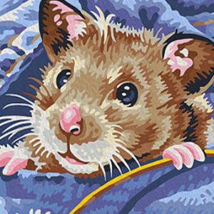 HAMSTER POCKET Diamond Painting Kit Paint with Diamonds Kit