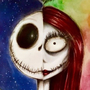 JACK & SALLY MASHUP Diamond Painting Kit Paint with Diamonds Kit