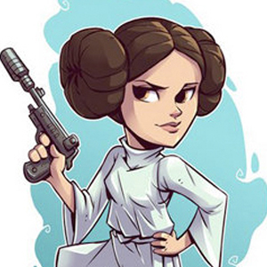 PRINCESS LEIA STAR WARS CARTOON Diamond Painting Kit Paint with Diamonds Kit