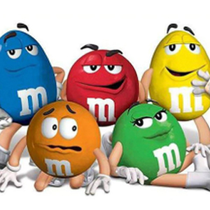 M&M CHARACTERS Diamond Painting Kit Paint with Diamonds Kit