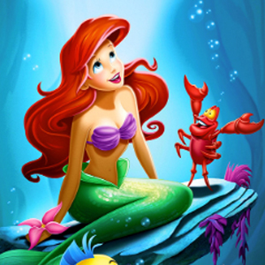 LITTLE MERMAID UNDERSEA Diamond Painting Kit Paint with Diamonds Kit