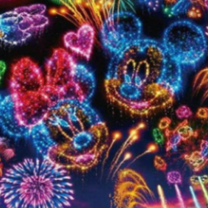 MICKEY & MINNIE FIREWORKS Diamond Painting Kit Paint with Diamonds Kit