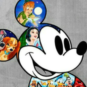 MICKEY DISNEY MOVIES Diamond Painting Kit Paint with Diamonds Kit