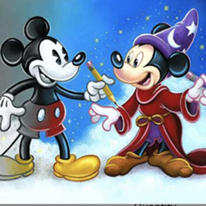 MICKEY THROUGHOUT THE YEARS Diamond Painting Kit Paint with Diamonds Kit