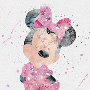 COLORFUL MINNIE DISNEY INK BLOTS Diamond Painting Kit Paint with Diamonds Kit