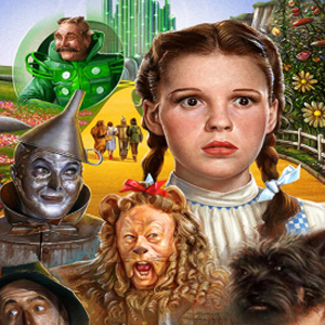 WIZARD OF OZ Diamond Painting Kit Paint with Diamonds Kit