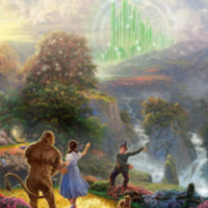 LAND OF OZ Diamond Painting Kit Paint with Diamonds Kit