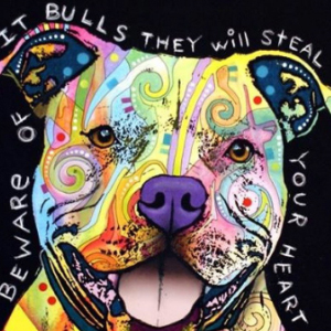 PIT BULL LOVE Diamond Painting Kit Paint with Diamonds Kit