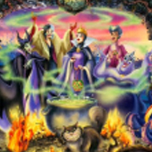 PLOTTING DISNEY VILLAINS Diamond Painting Kit Paint with Diamonds Kit