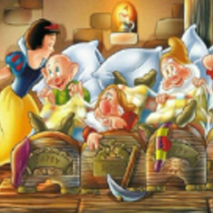 SNOW WHITE & THE 7 DWARFS Diamond Painting Kit Paint with Diamonds Kit