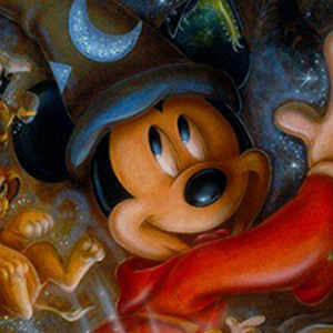 SORCERER MICKEY DREAMS Diamond Painting Kit Paint with Diamonds Kit