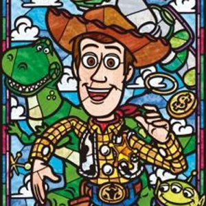 TALL TOY STORY STAINED GLASS Diamond Painting Kit Paint with Diamonds Kit