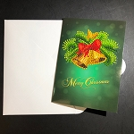 CHRISTMAS BELLS Diamond Painting Card Kit Paint with Diamonds Christmas Card Kit