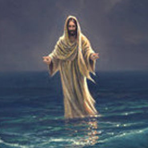 JESUS WALKING ON WATER Diamond Painting Kit Paint with Diamonds Kit