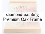 HANGING WOODEN FRAME for Diamond Painting Kit Paint with Diamonds Kit