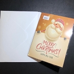 JOLLY SANTA Diamond Painting Card Kit Paint with Diamonds Christmas Card Kit