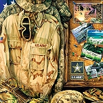 ARMY STRONG Diamond Painting Kit Paint with Diamonds Kit