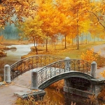 AUTUMN LANDSCAPE Diamond Painting Kit Paint with Diamonds Kit