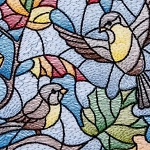 BIRDS CROSS STITCH Diamond Painting Kit Paint with Diamonds Kit