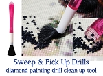 CLEAN UP PEN Sweep & Pick Up Diamond Drills Tool