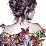 BUTTERFLY LADY Diamond Painting Kit Paint with Diamonds Kit