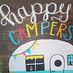 HAPPY CAMPERS Diamond Painting Kit Paint With Diamonds Kit