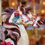 CAROUSEL HORSE Diamond Painting Kit Paint with Diamonds Kit