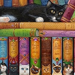BOOKS OF CATS Diamond Painting Kit Paint with Diamonds Kit