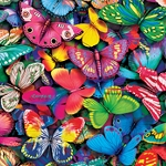 COLORFUL BUTTERFLIES Diamond Painting Kit Paint with Diamonds Kit