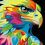 COLORFUL EAGLE Diamond Painting Kit Paint with Diamonds Kit