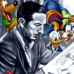 WALT DISNEY DRAWING Diamond Painting Kit Paint with Diamonds Kit