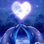 DOLPHIN LOVE Diamond Painting Kit Paint With Diamonds Kit