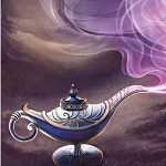 GENIE LAMP Diamond Painting Kit Paint with Diamonds Kit