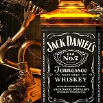 JACK DANIELS BOTTLE Diamond Painting Kit Paint with Diamonds Kit