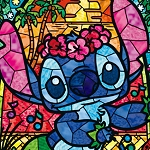 LILO & STITCH STAINED GLASS Diamond Painting Kit Paint with Diamonds Kit
