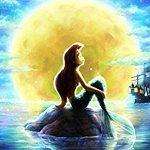 LITTLE MERMAID Diamond Painting Kit Paint with Diamonds Kit
