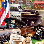 LOCAL LAW POLICE Diamond Painting Kit Paint with Diamonds Kit