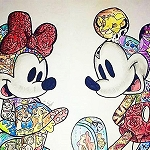 MICKEY & MINNIE DISNEY MOVIES Diamond Painting Kit Paint with Diamonds Kit