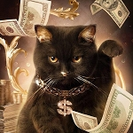 MONEY CAT Diamond Painting Kit Paint with Diamonds Kit