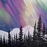 NORTHERN LIGHTS Diamond Painting Kit Paint with Diamonds Kit