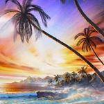 BEACH WAVES Diamond Painting Kit Paint With Diamonds Kit