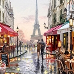 LIFE IN PARIS Diamond Painting Kit Paint With Diamonds Kit