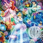 DISNEY PRINCESSES IN LIGHTS Diamond Painting Kit Paint with Diamonds Kit