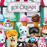 PUP ICE CREAM SHOP Diamond Painting Kit Paint with Diamonds Kit